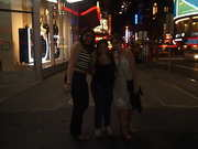 Girls and I at Time Square - NY