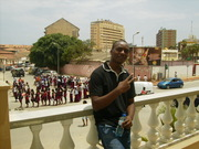Delcio no Desfile Academico em 2008