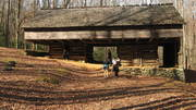 Cantilevered Barn