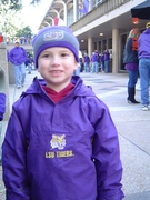 Nicholas at the LSU game