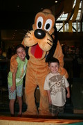 With Pluto @ the Garden Grill