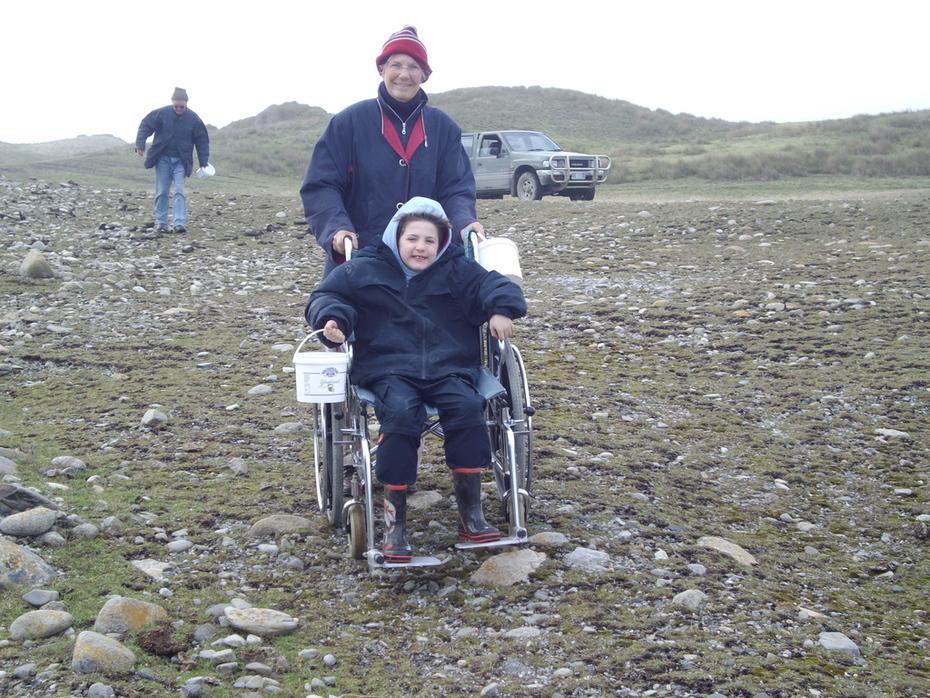 Ryans first wheelchair