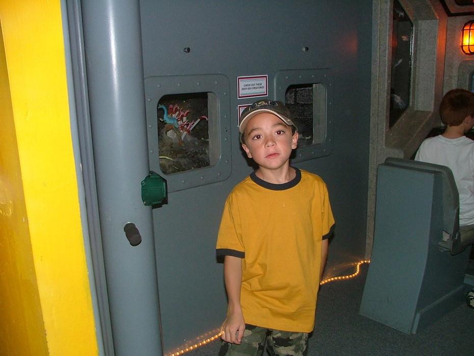 Elijah at a museum in Tucson