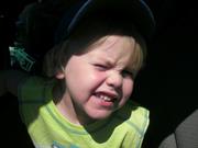 Logan looking cute as ever!