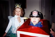 My fire truck Halloween outfit!