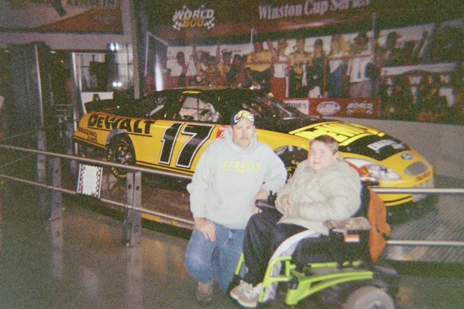 Dad & Garrett