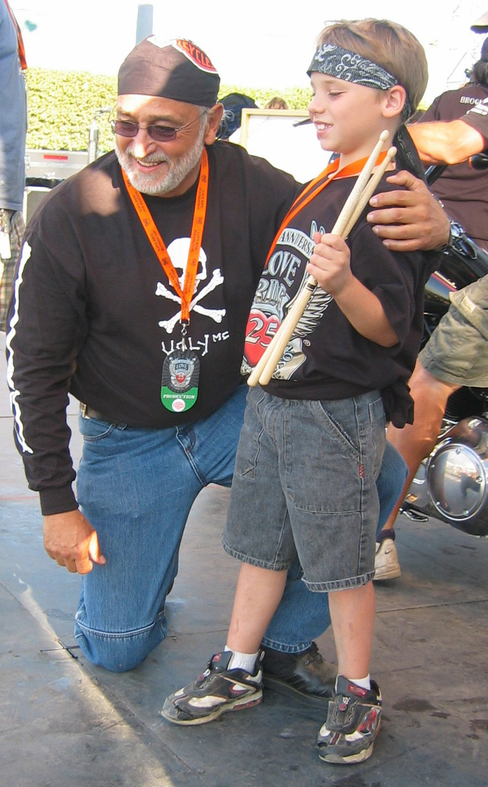 Oliver (Love Ride Founder) and Jared at Love Ride 2008