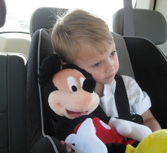 Baylor and pal Mickey