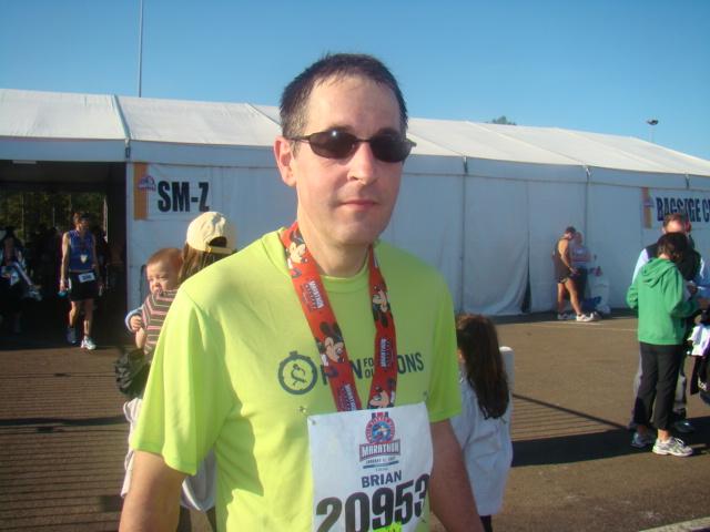 Disney marathon Brian