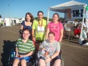 Disney marathon Denger family
