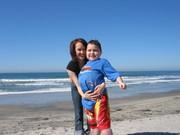 Tyler loves the beach