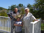 Kevin with Granparents Frank, Bethany Beach
