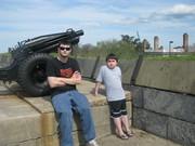 Josh and Miller  Fort Monroe