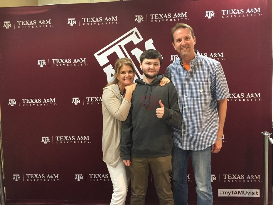 An Aggie at Last!