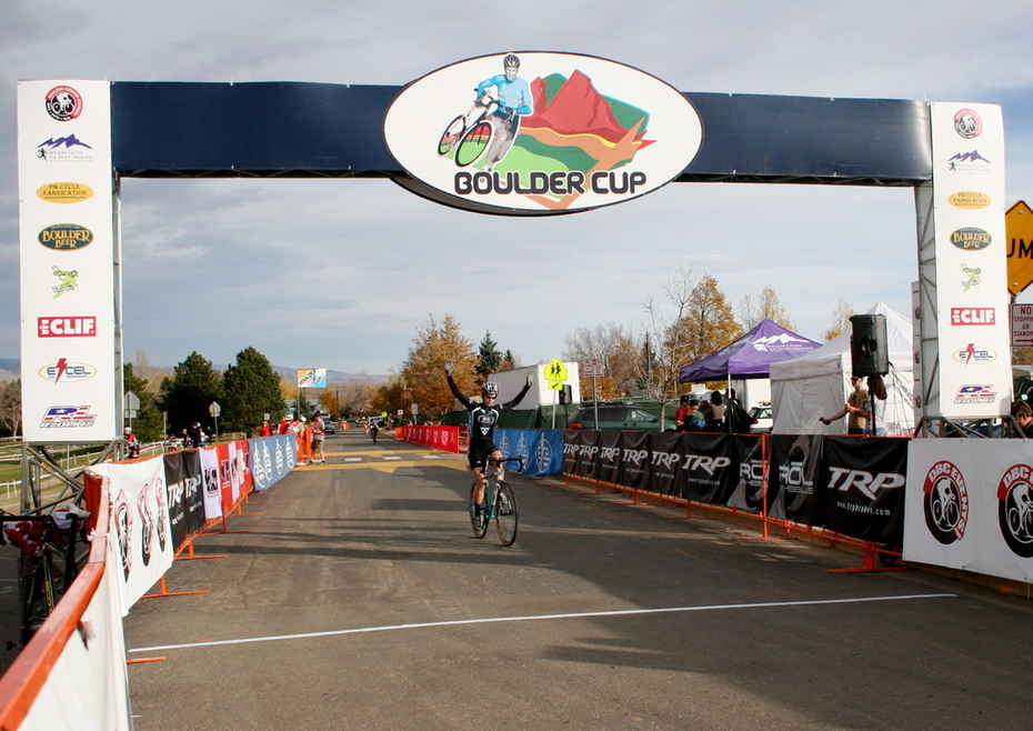 Victory at the Boulder Cup!