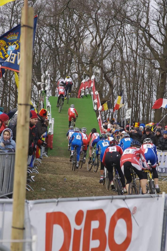 First lap action, Hoogerheide World Championships