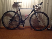 My first cyclocrosser Focus Mares (second hand)