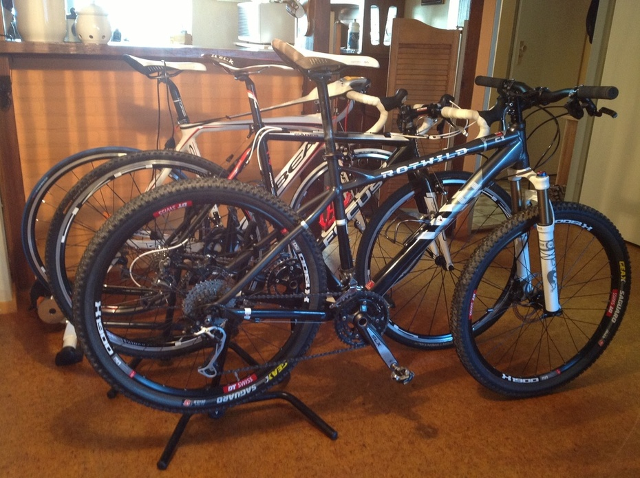 My collection bikes