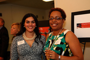 VP Education Cecilia Slesnick and Chief Curator Joanne Hyppolite