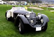 Pebble Beach - 1930 Mercedes-Benz SS Roadster with Erdmann & Rossi coachwork