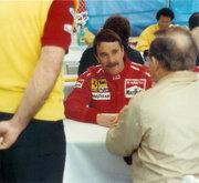 Nigel Mansell, USGP, Phoenix AZ 1990