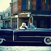 Marilyn Monroe in 1954 Cadillac