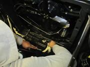 1958 Cadillac Eldo engine compartment