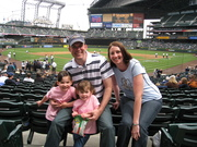 First Family Trip to Safeco Field (2009)