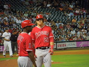 Mike Trout, Angels @ Minute Maid Park