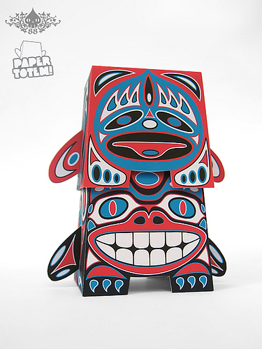 Paper Totem! x Reactor 88