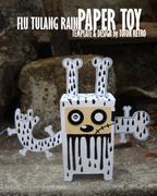 Flu Tulang Paper Toy