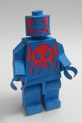 Paper LEGO Spidey 2099