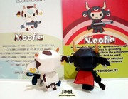Mozzarella & Bulletto Papertoy