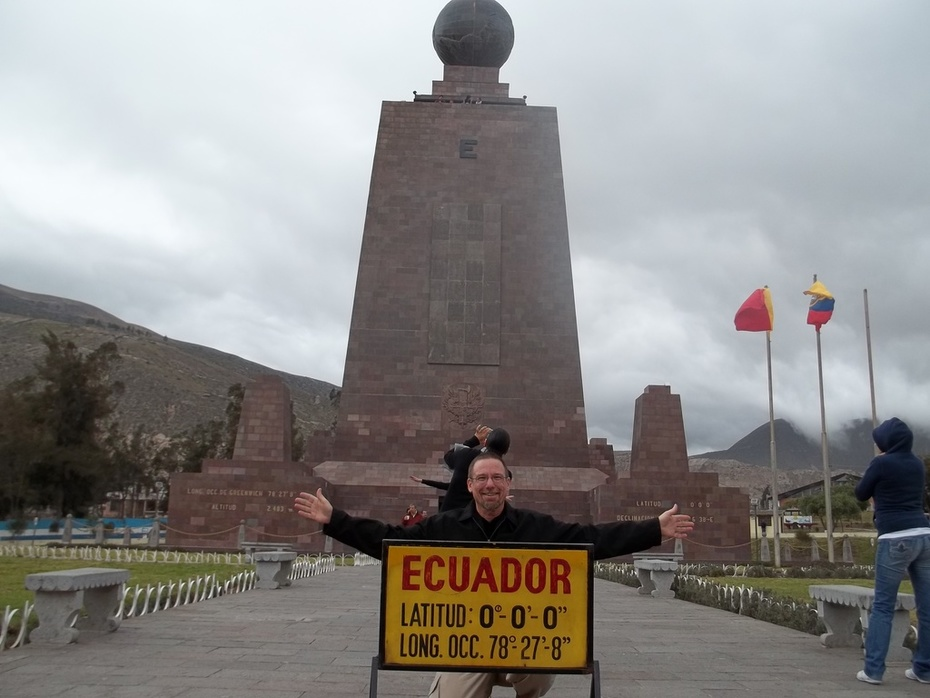 At the Equator in October 2010