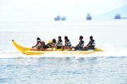 banana boat riding
