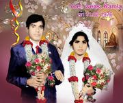 Old memories- Yoel (me )& My wife Kamla