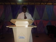 What a priveledge to minister on the platform of my father in Lord.