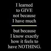 Why do some give more than others?