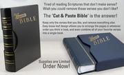 cut & copy Bible