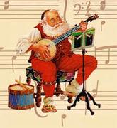 Christmassy at Bowes Park Folk Club