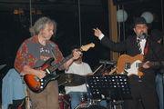 Nick tsiamtsikas & Blues Report live at Silivani cafe