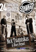 Nick tsiamtsikas & Blues Report live @ STAGE 25