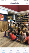Storytelling with a wipe off board