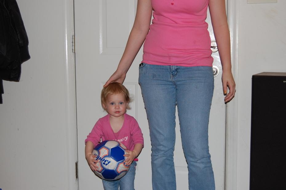My daughter, 2009, granddaughter