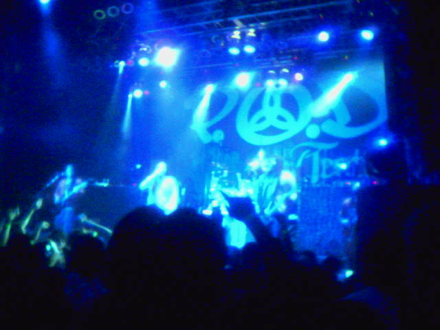 POD concert at House of Blues