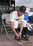 Putting on Baseball Spikes AZ