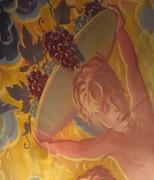 Ceiling Cherub, Bucca di Beppo Restaurant
