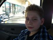 Evan my grandson