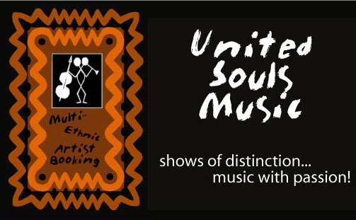 United Souls Music multi-ethnic Booking & Promotion official banner