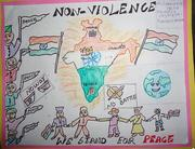 """Non-Violence we stand for peace"""" Celebrating International Non-Violence Day"""""""